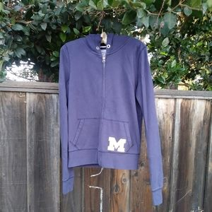 U of M zip up hoodie!